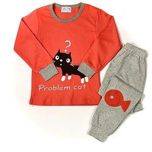 Kids pajamas 100%cotton